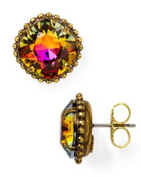 Sorrelli - Metallic Stud Earrings - Lyst
