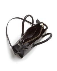 Furla - Black Pin Leather Tote - Lyst