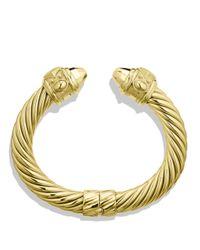 David Yurman Metallic Renaissance Bracelet In Gold