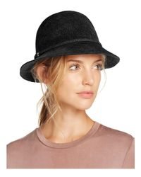 Helen Kaminski - Black Sadela 6 Rollable Fur Cloche - Lyst