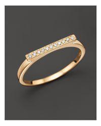 Dana Rebecca - Metallic Diamond Sylvie Rose Ring In 14k Yellow Gold - Lyst