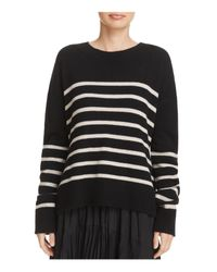 Vince - Black Tie-back Cashmere Sweater - Lyst