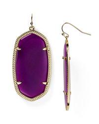 Kendra Scott Purple Danielle Earrings