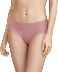 Chantelle Pink Soft Stretch One - Size Seamless Hipster
