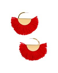 BaubleBar | Red Bonita Drop Earrings | Lyst