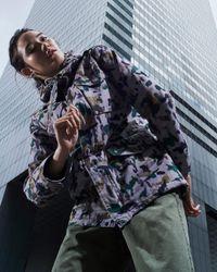 Zadig & Voltaire Multicolor Kris Camo Parka