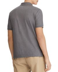Polo Ralph Lauren - Gray Polo Classic Fit Soft-touch Polo Shirt for Men - Lyst