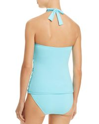 Bleu Rod Beattie - Blue Smock It To Ya Halter Tankini Top - Lyst
