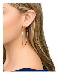 Gorjana - Metallic Taner Hoop Earrings - Lyst