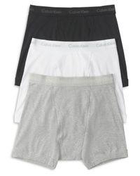 Calvin Klein Black Cotton Classics Boxer Briefs for men