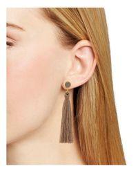 Gorjana Multicolor Astoria Tassel Earrings