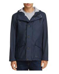 Stutterheim - Blue Stenhamra Lightweight Hooded Rain Coat for Men - Lyst