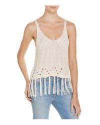 PPLA | Multicolor Dia Sweater-knit Tank | Lyst