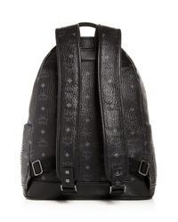 MCM - Black Stark Gunta Medium Studded Backpack for Men - Lyst