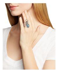 Alexis Bittar - Multicolor Swarovski Crystal Pavé Spider Ring - Lyst