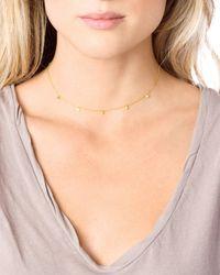 Gorjana - Metallic Five Disc Choker Necklace - Lyst