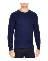 Sandro - Blue Electric Sweater for Men - Lyst