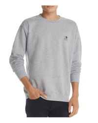 Obey - Gray Special Reserve Crewneck Sweatshirt for Men - Lyst