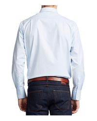 Thomas Pink - Blue Ackerman Texture Classic Fit Dress Shirt - Bloomingdale's Classic Fit for Men - Lyst