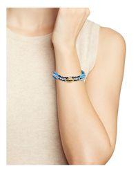 Rebecca Minkoff - Blue Lola Friendship Bracelet - Lyst
