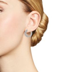 Bloomingdale's Diamond Statement Earring In 14k White Gold