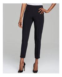 Basler Black Slim Ankle Trousers