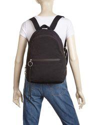 Rebecca Minkoff Black Dome Nylon Backpack
