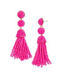 BaubleBar - Pink Mini Granita Drop Earrings - Lyst