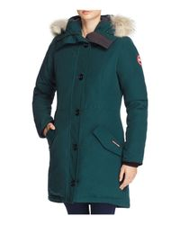 Canada Goose Green Rossclair Shell Parka Jacket