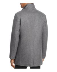 Cole Haan - Gray Melton Three-in-one Topper Coat for Men - Lyst