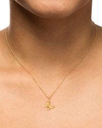 Dogeared Metallic 14k Gold - Dipped Butterfly Necklace