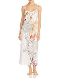 Natori Multicolor Nikko Floral-print Nightgown