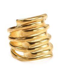 Uno De 50 Metallic Tornado Ring