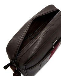 Ted Baker Brown Webbing Messenger Bag for men
