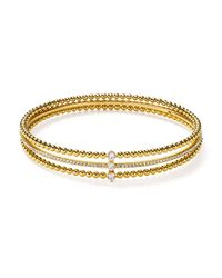 Nadri - Metallic Eclat Linked Bracelet - Lyst