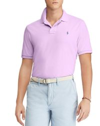 Polo Ralph Lauren - Purple Classic Fit Short Sleeve Polo Shirt for Men - Lyst