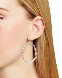 Kendra Scott - Metallic Lindsey Geometric Drop Earrings - Lyst