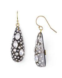 Alexis Bittar - Black Shimmer Dust Dewdrop Earrings - Lyst