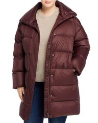Eileen Fisher Multicolor Down Puffer Coat