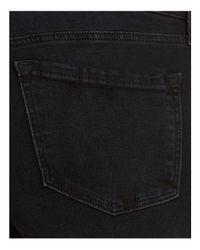 J Brand Crop Skinny Jeans In Ingenious Black Destruct