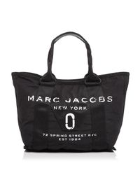Marc Jacobs Black New Logo Small Tote