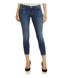 J Brand Blue 9326 Crop Skinny Jeans In Surrey Lane