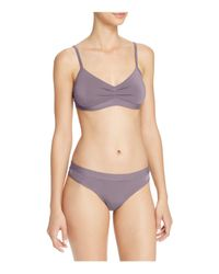 Naked - Purple Micromodal Thong - Lyst