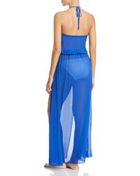 Ramy Brook - Blue Justina Dress Swim Cover-up - Lyst