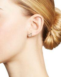 KC Designs - Metallic 14k Yellow Gold Butterfly Diamond Earrings - Lyst
