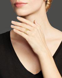 Bloomingdale's - Metallic Diamond Triple Stack Ring In 14k Yellow Gold, .35 Ct. T.w. - Lyst