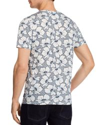 Ted Baker Blue Flower Power Tee for men