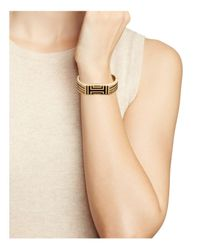 Tory Burch - Metallic For Fitbit Caged Metal Bangle - Lyst