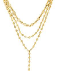 BaubleBar Metallic Aimee Y Choker Necklace