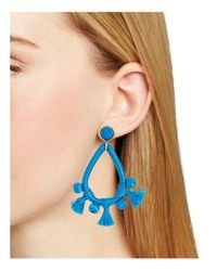 BaubleBar - Blue Sardinia Drop Earrings - Lyst